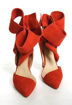 Red shoe love!
