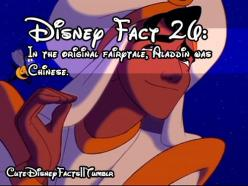 So... he could've looked like Shang... Ten times more hotter.: Amazing Movie, Disneyland Facts, Movie Facts, Disney Cartoon, Disney Fun Facts, Cute Disney Facts, Aladdin Facts, Random Facts, Fact 26
