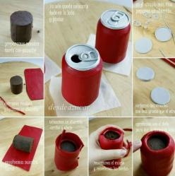 Soda Can Cake Picture Tutorial would make a great men's birthday cake!!: Soda Can Cake, Idea, Years De, Can Cakes, Cake Tutorials, Birthday Cake, Cake Decorating, Beer Cake
