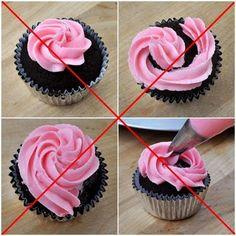 Step-By-Step Tutorial: How to Swirl Icing on a Cupcake: Cupcake Decorating Tips, Cupcake Recipes, Cake Blog, Cook S Cake, Cup Cake, Cupcakes Decorating, Beki Cook S, Frosting Cupcakes, Cupcake Swirl