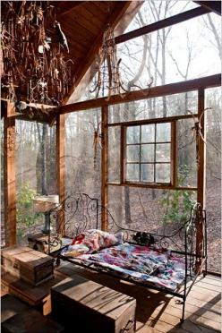 The Bohemian Home...Indoor/Outdoor Space...Lovely...: Interior, Idea, Window, Dream, House, Space, Place, Sun Room, Sunroom