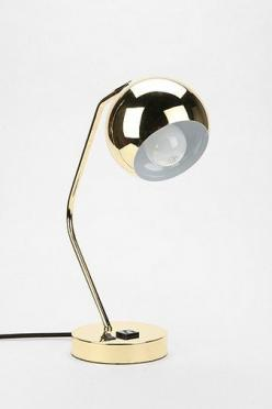 urban outfitters desk lamp: Lamps, Urbanoutfitters, Gumball Desk, Urban Outfitters, Desks, Gold Gumball