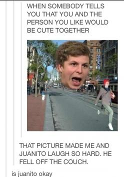 XD The picture is so accurate too: Funny Tumblr Pictures, Funny Stuff, Micheal Cera, Humor, Michael Cera, Funniest Pictures, So Funny, Funny Post Laughing So Hard