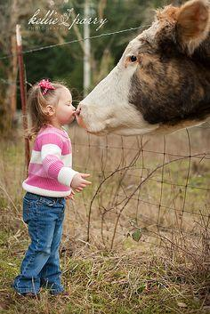 De Gothberg Farms  Awww...a girl and her show stock! Thanks @louisianabrahamanassociation for the share.: Show Cows, Farm, Cows 3, Cow Kisses, Moo Moo, Showing Cows, Cows Cows, Country