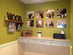 Dog Room Wall of Fame-  Doing this with all of HamBastian's doggy cousins and God sister!: Must Be, Decorado Solo, Hambastian S Doggy, Room Wall, Pets Ideas, Guest Dog Room, Dog Rooms, Poppy S Doggy, Doggys Room
