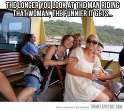 How do these things happen!! Ahahaha: Giggle, Optical Illusions, Funny Pictures, Funny Stuff, Man Riding, Funnies, Humor, Photo