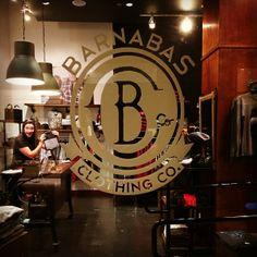 If you're in Pasadena, swing by the Paseo Colorado and check out the Barnabas Clothing Co. store!