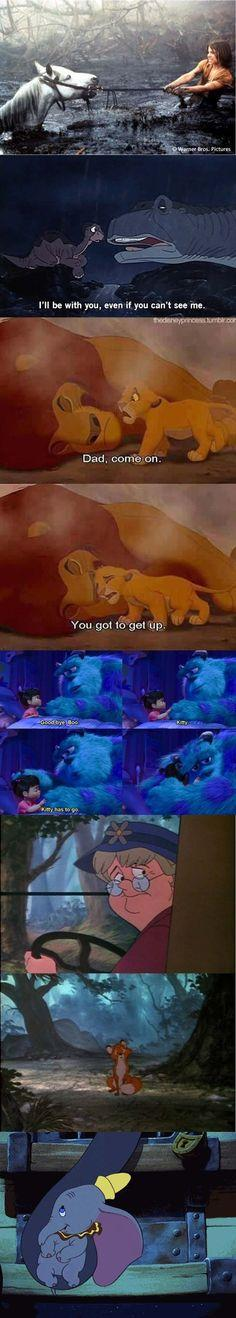 Kids movies are always happy!   The 25 Biggest Lies You Were Told During Your Childhood