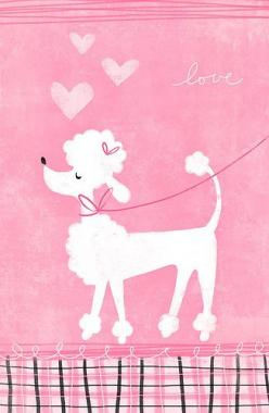 poodle by hailey parnell, via Flickr: Art Pictures Photography, Animals, Poodles ️, Pink Poodle Love For Rachie, Pink Pink, Dogs Poodles 3, Poodle Illustrations