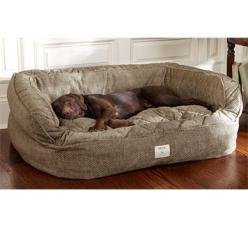 @Shelley Parker Herke Smith - Deep dish dog bed. Comes in 4 different colors. Cash and Cutter might never get out of bed: Dish Dog, Dogbeds, Dogs, Pet, Deep Dish, Lounger Deep, Dog Beds, Dog Couch, Animal