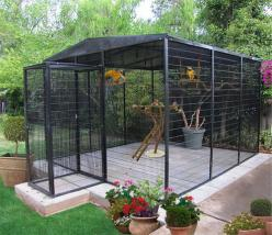 the outdoor aviary I'd like, from cages by design: Bird Enclosure, Outdoor Aviaries, Birds, Bird Aviaries