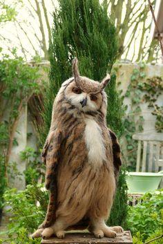 .This was an owl once...: Dashing Owl, Animals, Funny, Birds, Owls, Waif Waif