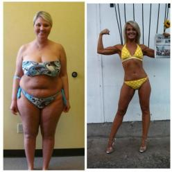 Amazing Body Transformation: Woman Loses 70 lbs at 40 - Oooh yeah! @Jessica Grinsteinner Marler: Body Transformations, Trouble Spots, Unhealthy Trouble, Start Releasing, Women Body Transformation, Amazing Body Transformation, Instantly Start, Cellular Swi