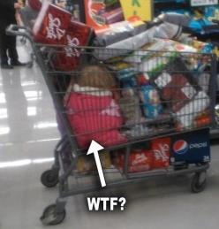Are you kidding me! Parent Fail!: At Walmart, Funny Stuff, Funnies, Wtf, People, Parenting Fail, Kid