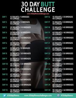 Brazilian Butt Workout... awesome ways to work out your butt!: 30Day, Challenges, Butt Challenge, Workout Challenge, Fitness Challenge, Work Out, Fitness Workout, 30 Day, Butt Workout