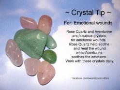 Crystal Tip ~ For Emotional Wounds : Use Aventurine and Rose Quartz.: Rose Quartz, Crystals Minerals Gemstones, Healing Crystals, Crystals Stones, Emotional Wounds, Healing Stones, Crystal Healing, Crystals Gemstones Minerals