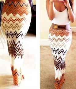.: Fashion, Summer Outfit, Style, Dress, Maxis, Chevron Maxi Skirt, Maxi Skirts