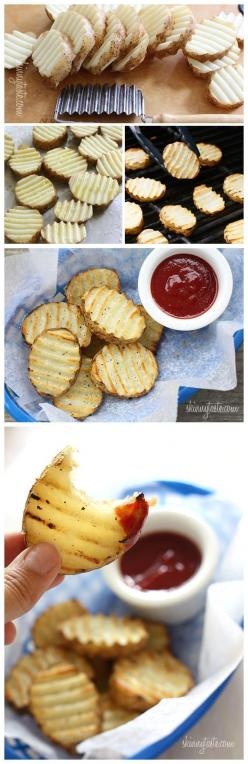 Grilled Potatoes (So simple and easy... and yet, I've never done it or thought about doing it! Definitely adding this to the menu this summer...): Grilling Idea, Grilled Potatoe, Summer Food, Grilled Food, Cookout Food, Food Idea, Grill Potato, Easy S