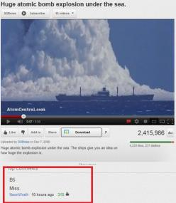 Hahaha...I laughed way to hard at this! Seriously, I love that game.: Youtube Comment, Giggle, Funny Stuff, Humor, Funnies, Battleship, Funny Comment