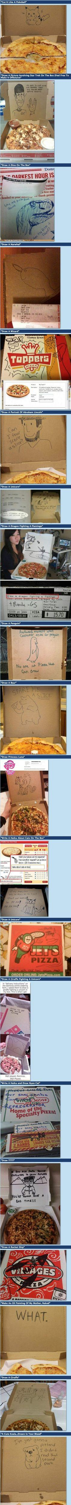 I'm so doing this next time I get pizza!