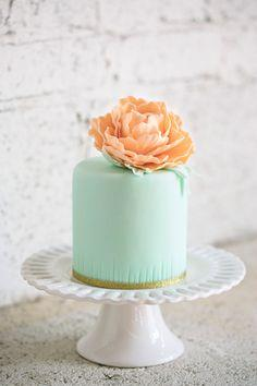 Indian Weddings Inspirations. Green Mini Wedding Cakes. Repinned by #indianweddingsmag indianweddingsmag.com