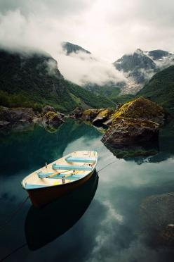 Lake Bondhusvatnet / Folgefonna National Park, Norway: Adventure, Lake Bondhusvatnet, Beautiful Places, Folgefonna National, National Parks, Travel, Photo, Norway