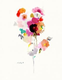 original watercolor #103 | helen dealtry: Art, Water Colour, Water Color, Watercolor Flower, Watercolor 103