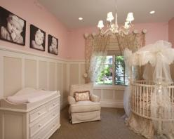 Themes For Baby Girl Nursery Design, Pictures, Remodel, Decor and Ideas - page 48: Round Crib, Babies, Babygirl, Girl Room, Nurseries, Nursery Ideas, Baby Room, Baby Girls, Baby Rooms