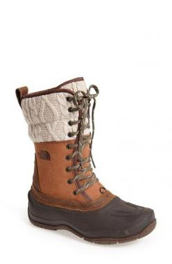 These are exactly what I was looking for. The North Face 'Shellista' Waterproof Mid Boot (Women) available at #Nordstrom: Gift Press Picture, Boots Women, North Faces, Snow Boots, Christmas Gift Press, Black Friday, Picture Link