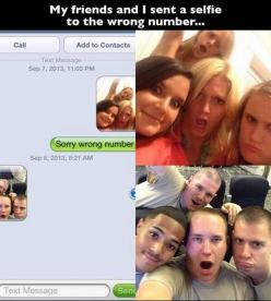 This is the kind of stupid mistake I would make with my girlfriends.  Great response!: Funny Texts, Funnytext, Numbers, Funny Stuff, Funnies, Humor