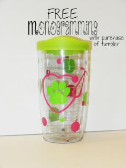Vet/Vet Tech Monogrammed Tumbler by lollybellemonograms on Etsy: Tech Monogrammed, Funny Things, Vet Tech Gifts, Etsy, Tech Life, Monogrammed Tumbler, Dream Life, Vet Vet Tech, Gifts Galore