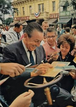 Walt Disney: he's the person dead or alive that I would have tea with given the chance.: Walt Disney, Vintage Disney, Waltdisney, Elias Disney, Disney Parks, Walter Elias, Things Disney, Main Street