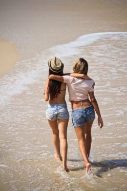 """""""What is love? two souls and one flesh; friendship? two bodies and one soul."""" ― Joseph Roux: Bestfriends, Beach Girl, Best Friend Photo, Beasts, Beach Photos Friends"""