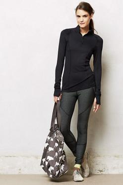 workout leggings: Half Zip Pullover, Workout Outfit, Pure, Complete Outfits, Workout Gear, Anthropologie Com, Workout Leggings, Nice Picture