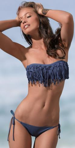 2013 Top 5 Summer Swimsuit Trends - #Bikini #SummerFashion #Modelswanted Want to be a model - Register via FB: www.facebook.com/wennerveld: Fringe Bathing Suit, Bathing Suits, Swimwear, Bikinis, Swimsuits, L Space, Bathingsuits