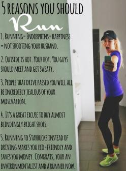 5 reasons you should run!: Body, Life, Motivation, Healthy, Exercise, Fitness Blog, Running, Workout