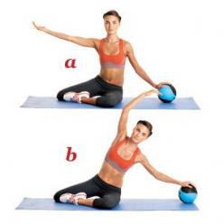 8 Pilates Exercises for a Tighter Tummy | ACTIVE: Exercise Workouts, Tummy Exercise, Fitness, Ab Exercises, Pilates Exercises, Exercises Workouts, Pilates Abs, Mermaid, Tighter Tummy