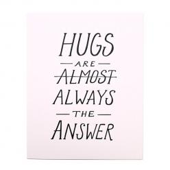 A darling little print that would especially look cute in a child's room.: Sayings, Hugs Print, Thought, Inspirational Quotes, Daughters, Daughter Paper, Odd Daughter, Products, Hugs Always