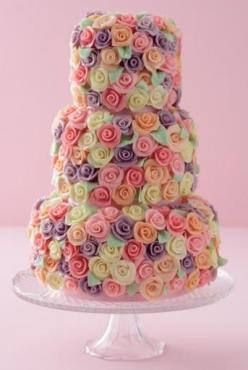 absolutely gorgeous: Shower Cake, Pretty Cake, Cake Ideas, Roses, Wedding Cakes, Rose Cake, Beautiful Cakes, Weddingcake