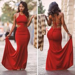 backless red prom dress, prom dress 2015: Fashion, Sexy, Style, Prom Dresses, Lola Monroe, Women