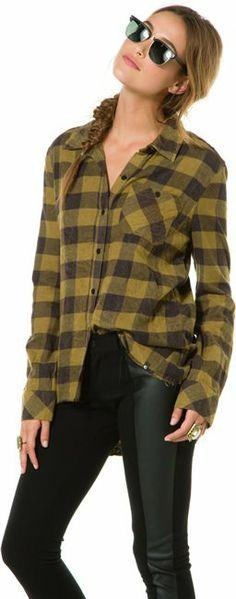 Billabong need for luv plaid flannel top. http://www.swell.com/New-Arrivals-Womens/BILLABONG-NEED-FOR-LUV-PLAID-FLANNEL-TOP?cs=OL