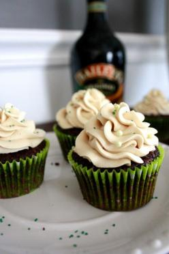 car bomb cupcakes: Sweet, Cupcake Recipe, Food, Dessert