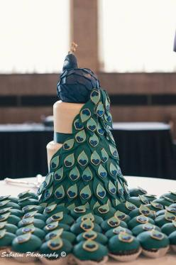 Cool peacock cake/ cupcakes: Shower Ideas, Good Ideas, Wedding Ideas, 639 960 Pixels, Peacock Cupcakes, Wedding Cake, Peacock Cake, Cake Cupcake Decorating