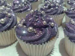 cupcakes for spa party | Spa Party Planning Tips (Part 2) - Laced Ivory: Beauty, Fashion ...: Sweet, Cupcakes, Wedding Ideas, Food, Purple Cupcake, Bridal Shower, Wedding Cake, Party Ideas, Dessert
