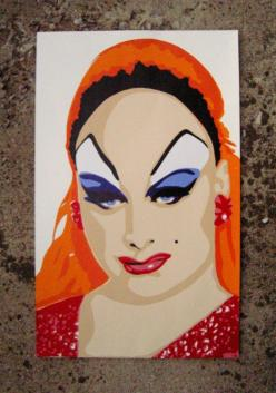 Divine Divine: Queens Kings, Drag Queens, Divine Intervention, Original Silkscreen, Divine Drag, Divine John Waters Friends