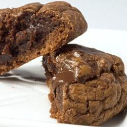 Fudgy Brownie Cookies  ~using brownie mix. Another pinner said- I've made these 4x now. they seriously are the best cookie ever made, ever, ever.: Cookie Monster, Brownie Mix Cookie, Brownie Cookies, Sweet Tooth, Brownies, Boxed Brownie