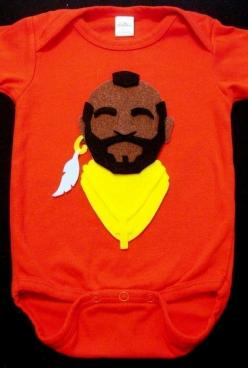 Funny Mr. T onsie, for all A-team fans with babies, $20: Pity, Ideas, Babies, Onesie, Foo, Dr. Who, Kids, Baby Boy