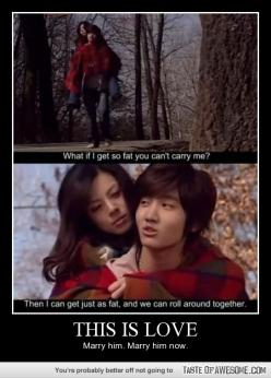 Funny - This Is Love. YES, I am waiting for this type of guy. ;): K Drama, Quote, True Love, Funny Stuff, Funnies, Humor, Things, Kdrama