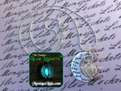 Glowies.net - Love You to the Moon and Back Crescent Orb Glowing Necklace: Girl, Crescent Orb, Glowing Necklace, Orb Glowing, Crescents, Crescent Moon, Moon Necklace, The Moon