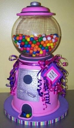 Google Image Result for http://www.birthday-parties-for-kids.com/wp-content/uploads/2009/05/3517132764_1d7cf27b4d.jpg: Amazing Cakes, Cakes Cupcakes, 1St Birthday, Awesome Cakes, Gumball Machine, Creative Cakes, Fun Cake, Birthday Cakes